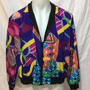 Woman's Reversible Jewel Jacket